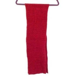 Kenneth Cole Reaction Red Chenille Ribbed Scarf